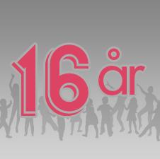 16 år